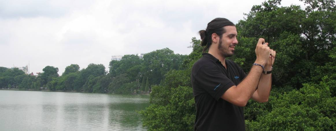 Photo of Marc Pous 2009 @ Hanoi, Vietnam